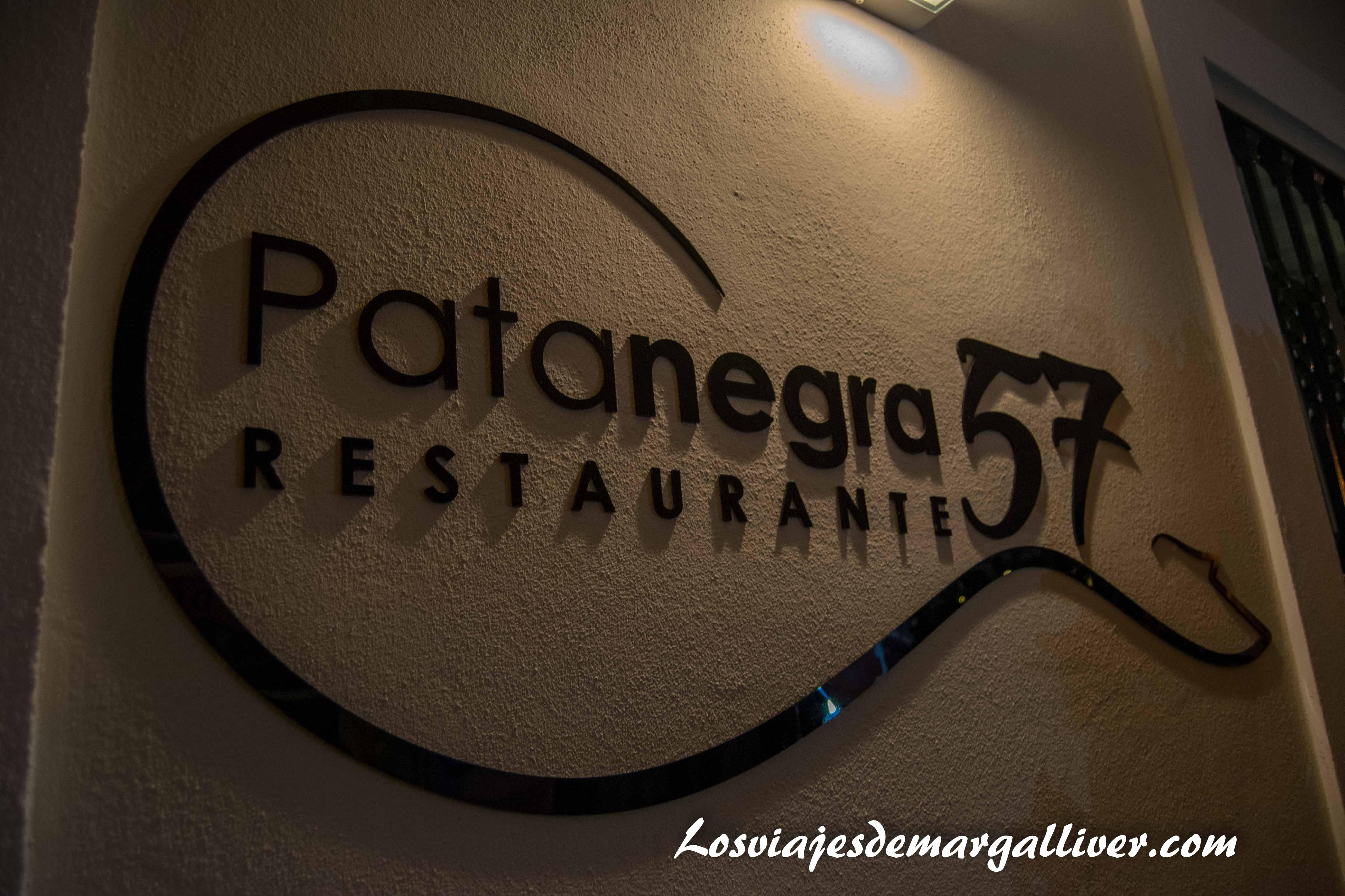 Restaurante patanegra 57 en Nerja - los viajes de Margalliver